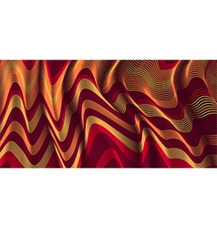 Moving colorful lines of abstract background vector image vector image