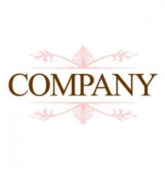 vintage company logo vector image vector image