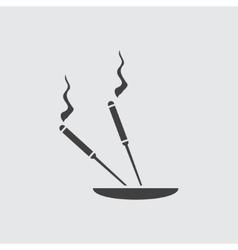Aroma stick icon vector image