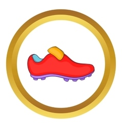 Football boots icon vector