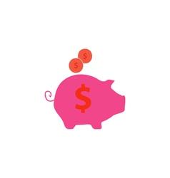 Moneybox icon vector