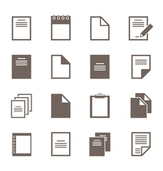 File an icon2 vector