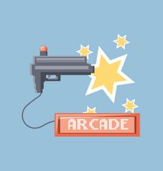 Arcade video game design vector