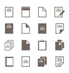 File an icon2 vector