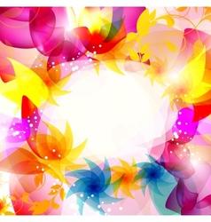 multicolor elegant background vector image vector image
