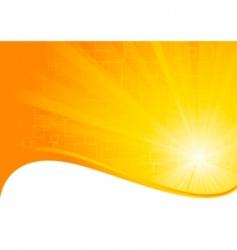 vector orange background vector image vector image