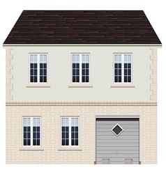 A big house design vector