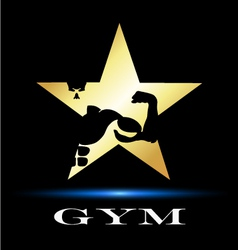 Design for gym vector