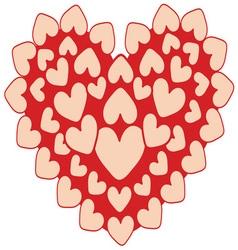 Happy Hearts vector image vector image