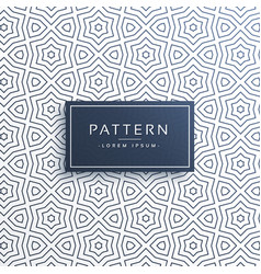Line pattern background design in abstract style vector