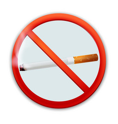 no-smoking-sign vector image