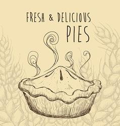 Sweet food design vector