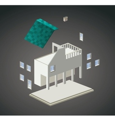 Isometric vector