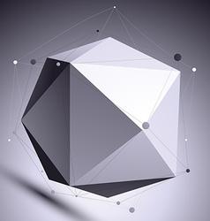 3d abstract design scientific template spherical vector