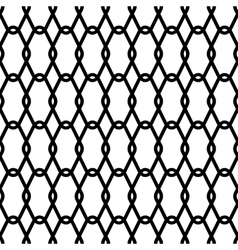 Steel wire mesh seamless background vector