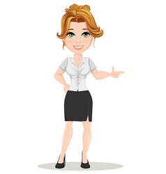 businesswoman 01 vector image vector image