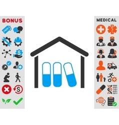 Drugs Garage Icon vector image vector image
