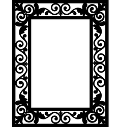 frame card vector image vector image