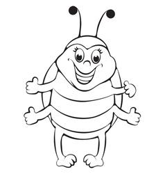 Ladybug vector image vector image