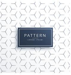 Minimal think line geometric pattern background vector