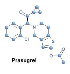 Prasugrel platelet inhibitor vector