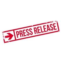 Press release stamp vector