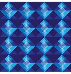 Royal blue square seamless pattern blackground vector