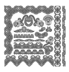 Decoration pattern for your design vector