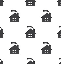 Cozy home seamless pattern vector