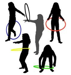 hula hoop vector image