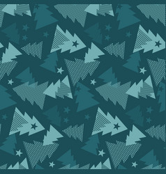 maars green color christmas textile vector image