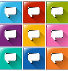 Quotation icons vector image vector image