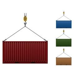 Cargo container 105 vector