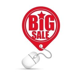 Big sale online round tag price vector