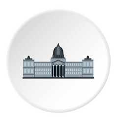 National congress building argentina icon circle vector