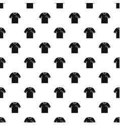 Soccer shirt pattern vector