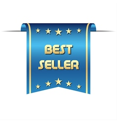 Premium best seller ribbon graphic object for your vector