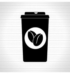 Beverage flat icon design vector