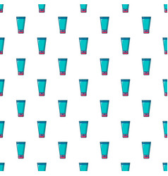 Creme tube pattern seamless vector