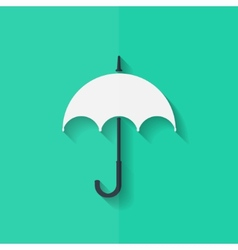 Umbrella icon Flat design vector image vector image