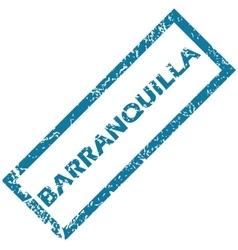Barranquilla rubber stamp vector