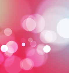Abstract bokeh light pink background vector