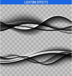 Abstract waves the effect of the wave design vector