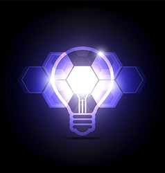 abstract technology idea vector image