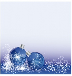 bauble background vector image