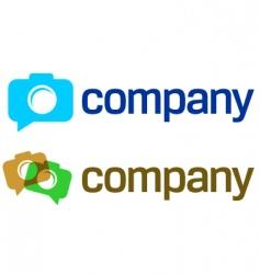 Camera logo vector