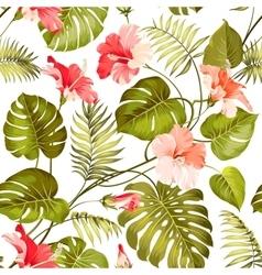Tropical flower vector