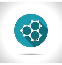 Graphene icon vector