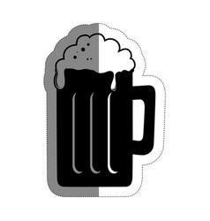 beer drink design vector image vector image