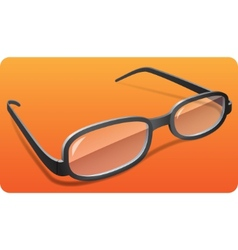 glasses eps 10 vector image vector image